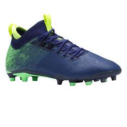 Botas de fútbol adulto terrenos secos Agility 900 MiD FG azul