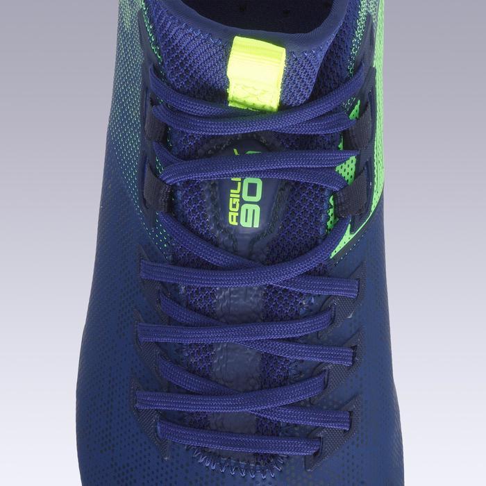 Voetbalschoenen voor volwassenen Agility 900 MiD FG droog terrein blauw