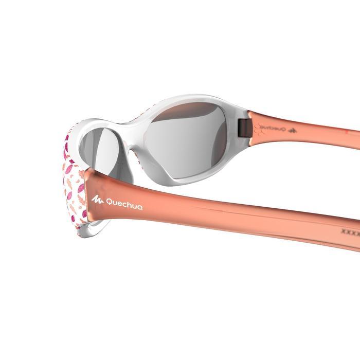 Zonnebril voor kinderen 2-4 jaar wandelen MH K120 koraal categorie 4