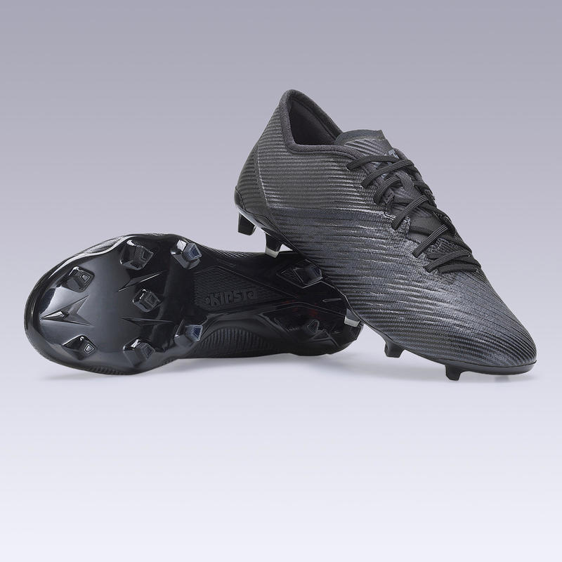 Adult Firm Ground Football Boots CLR - Black