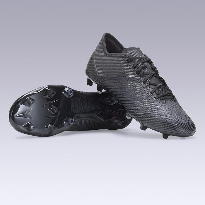 Voetbalschoenen voor volwassenen CLR FG droog terrein zwart
