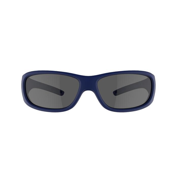 Sonnenbrille Wandern MH100 Kategorie 3 Kinder 7-9 Jahre blau