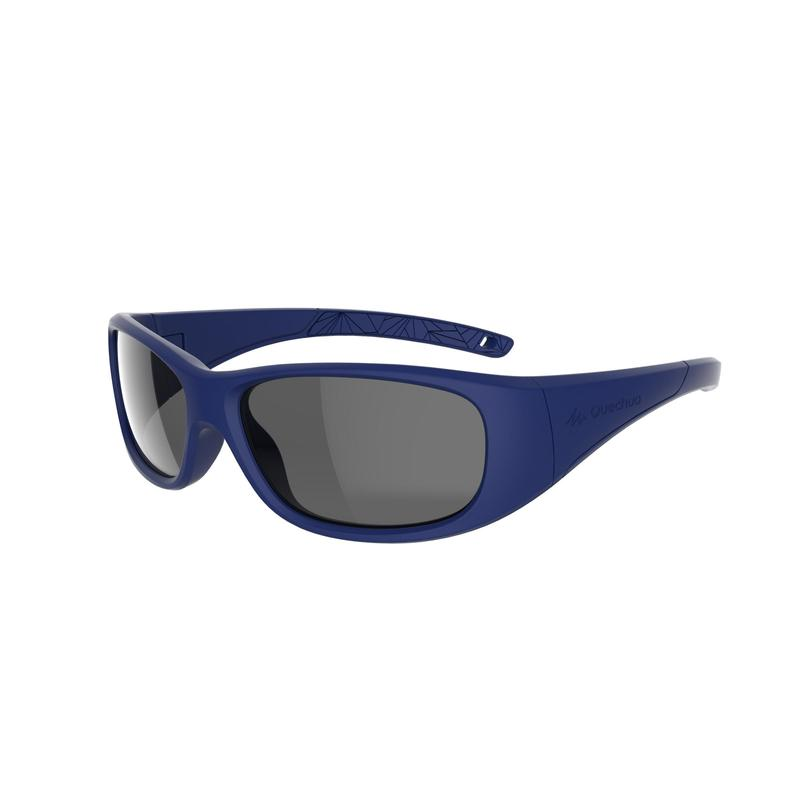 Kids Mountain Hiking Sunglasses Aged 6-10 MH T100 Category 3- Blue