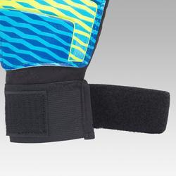 Keepershandschoenen kind First blauw/geel