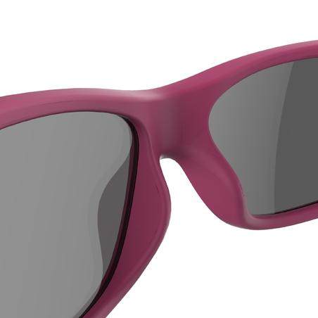 Kids Hiking Sunglasses Category 3, Ages 7-9 MH T100 - Pink