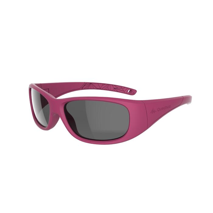 Kids' Hiking Sunglasses Category 3, Ages 7-9 MH T100 - Pink