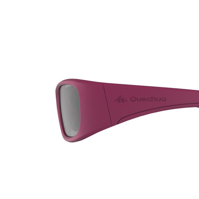 Sonnenbrille Wandern MH100 Kategorie 3 Kinder 7-9 Jahre rosa