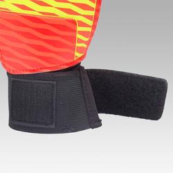 Gant de gardien de soccer enfant Premier orange noir jaune
