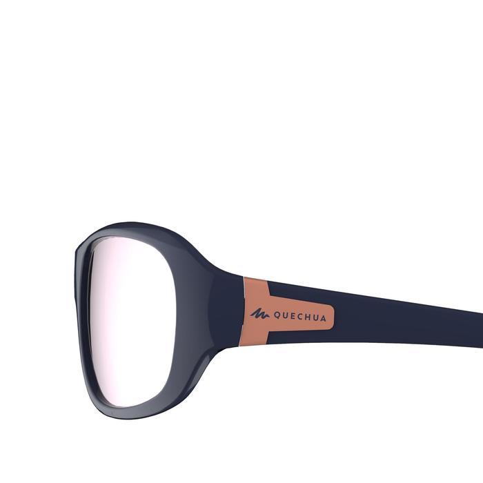 Sonnenbrille Wandern MH500 Kategorie 4 Kinder 8-10 Jahre blau