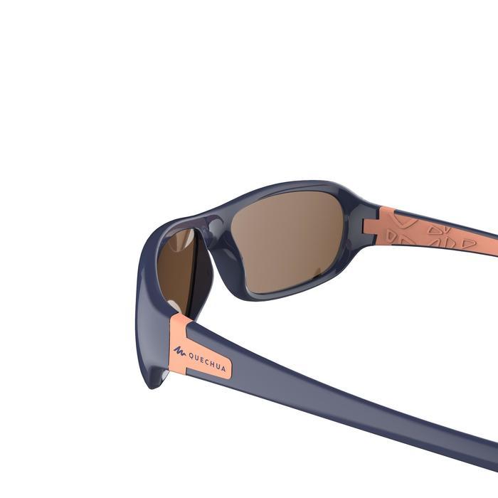 Gafas de sol de senderismo niños 8-10 años MH T500 azul categoría 4