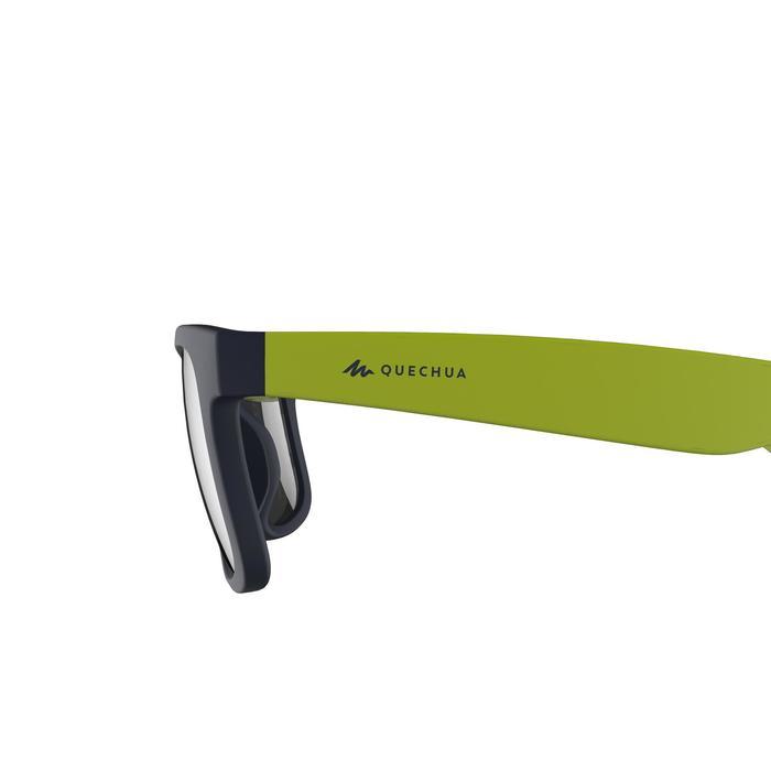 Wandelzonnebril voor kinderen 11-14 jaar MH T140 blauw/groen categorie 3
