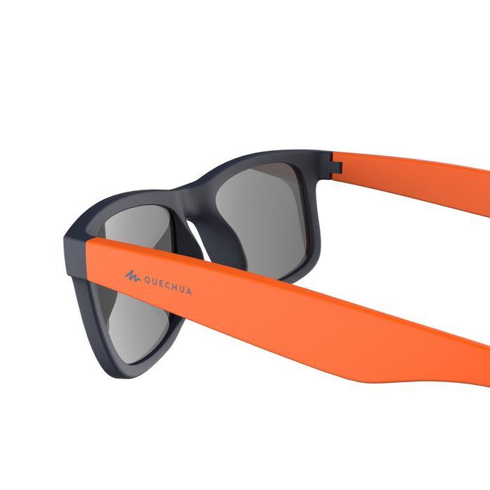 Wandelzonnebril voor kinderen 11-14 jaar MH T140 blauw/oranje categorie 3