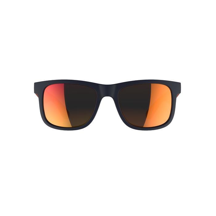 Lunettes de soleil randonnée enfant 11-14 ans MH T140 bleues/orange cat3