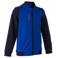 Trainingsjacke T100 Kinder blau