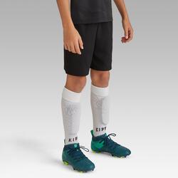 Pantalón corto de Fútbol júnior Kipsta F500 negro