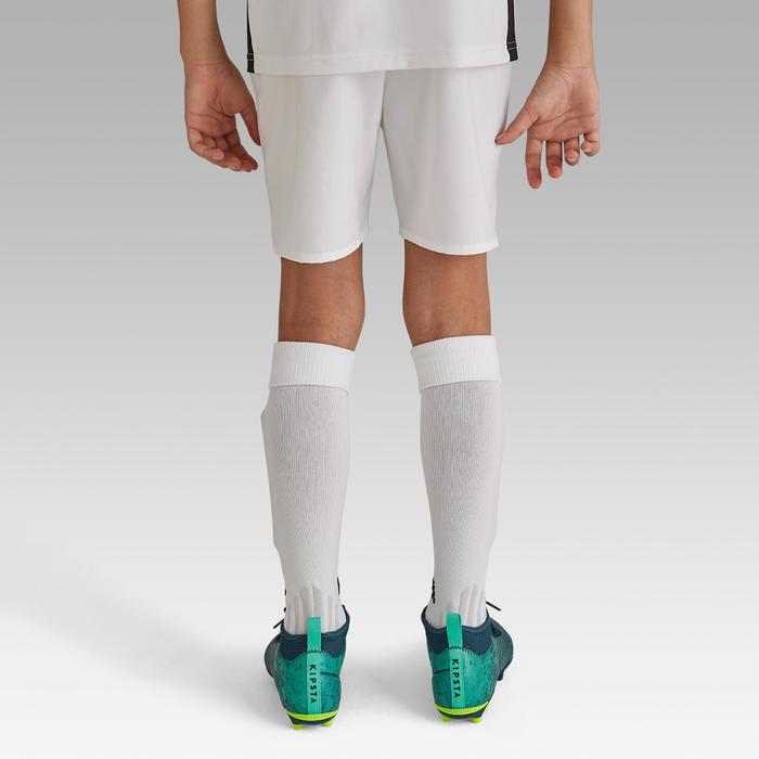 Voetbalshort voor kinderen F500 wit