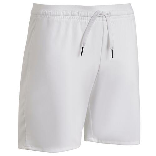 Short de football enfant F500 blanc