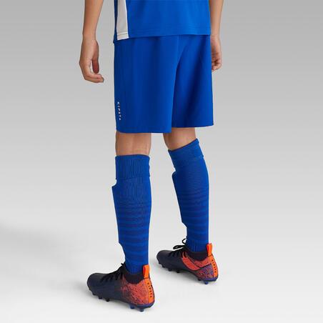 Celana Pendek Sepak bola F500 Junior - Biru