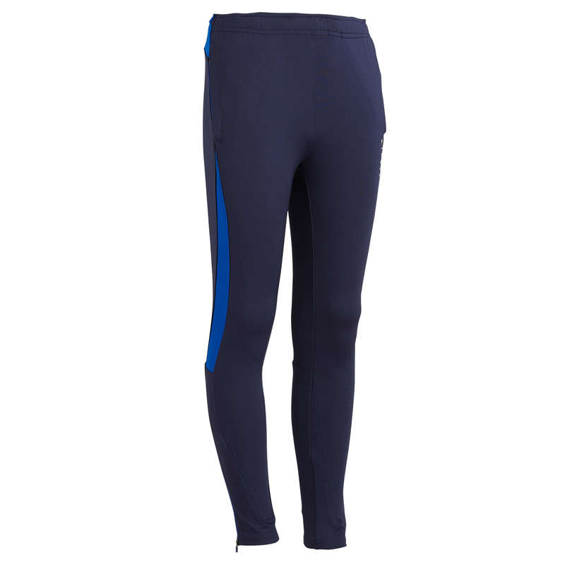 JR COLD WEATHER OUTFIT Football - TP 900 Bottoms - Navy KIPSTA - Football Clothing