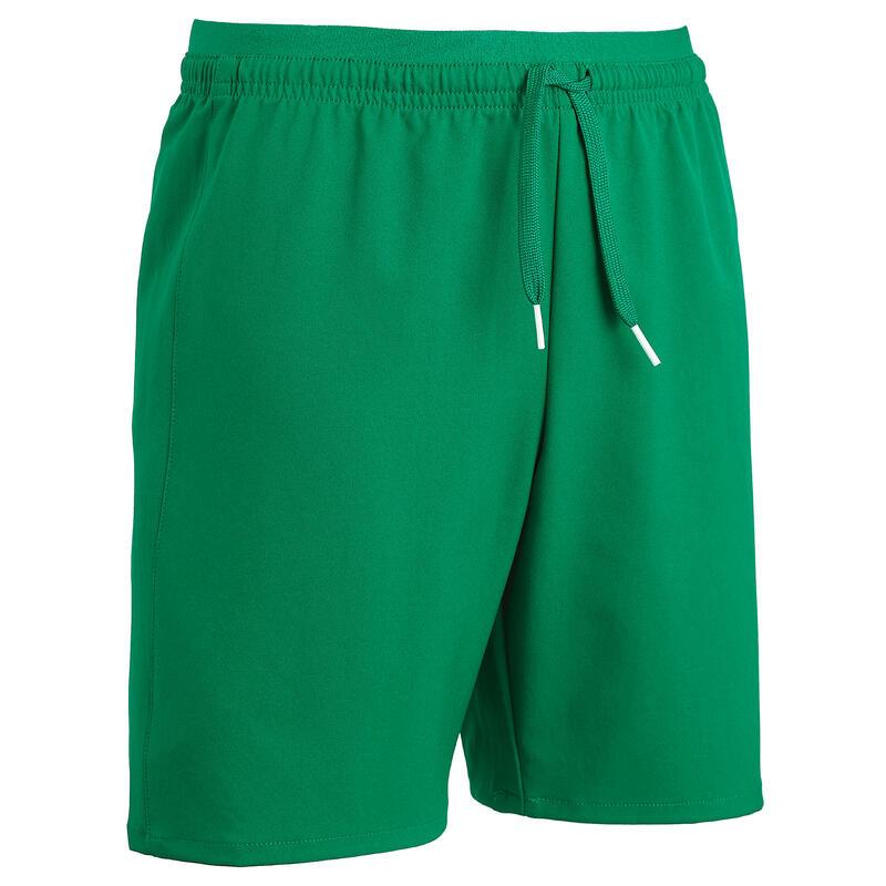 Short de football enfant F500 vert