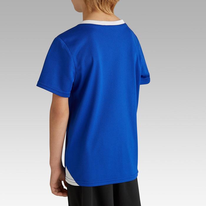 Fußballtrikot F100 Kinder indigoblau