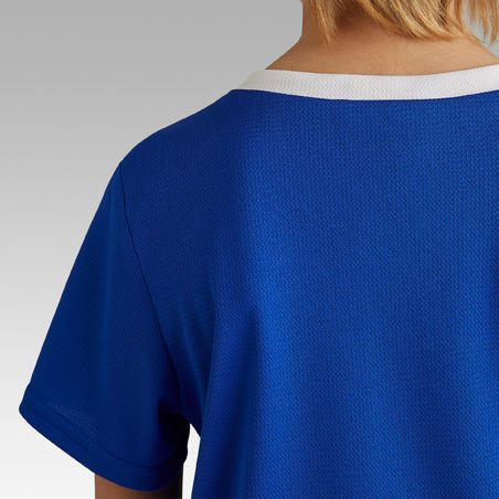 F100 Soccer Shirt Indigo Blue - Kids'