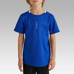 Voetbalshirt voor kinderen F100 indigoblauw