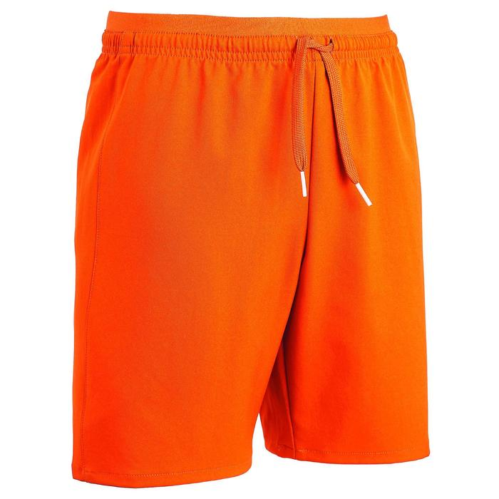 Short de football enfant F500 orange