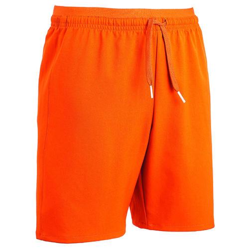 Short de football enfant F500 orange