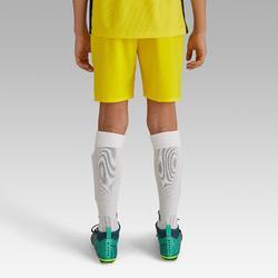 Voetbalbroekje kind F500 geel