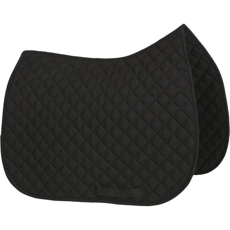 Horse Riding Schooling Saddle Cloth- Black