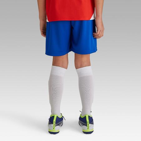 Short de Fútbol Kipsta F100 niños Azul