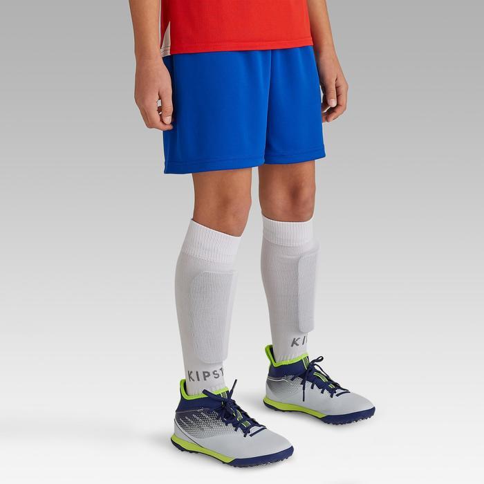 Pantalón corto de fútbol júnior F100 azul índigo