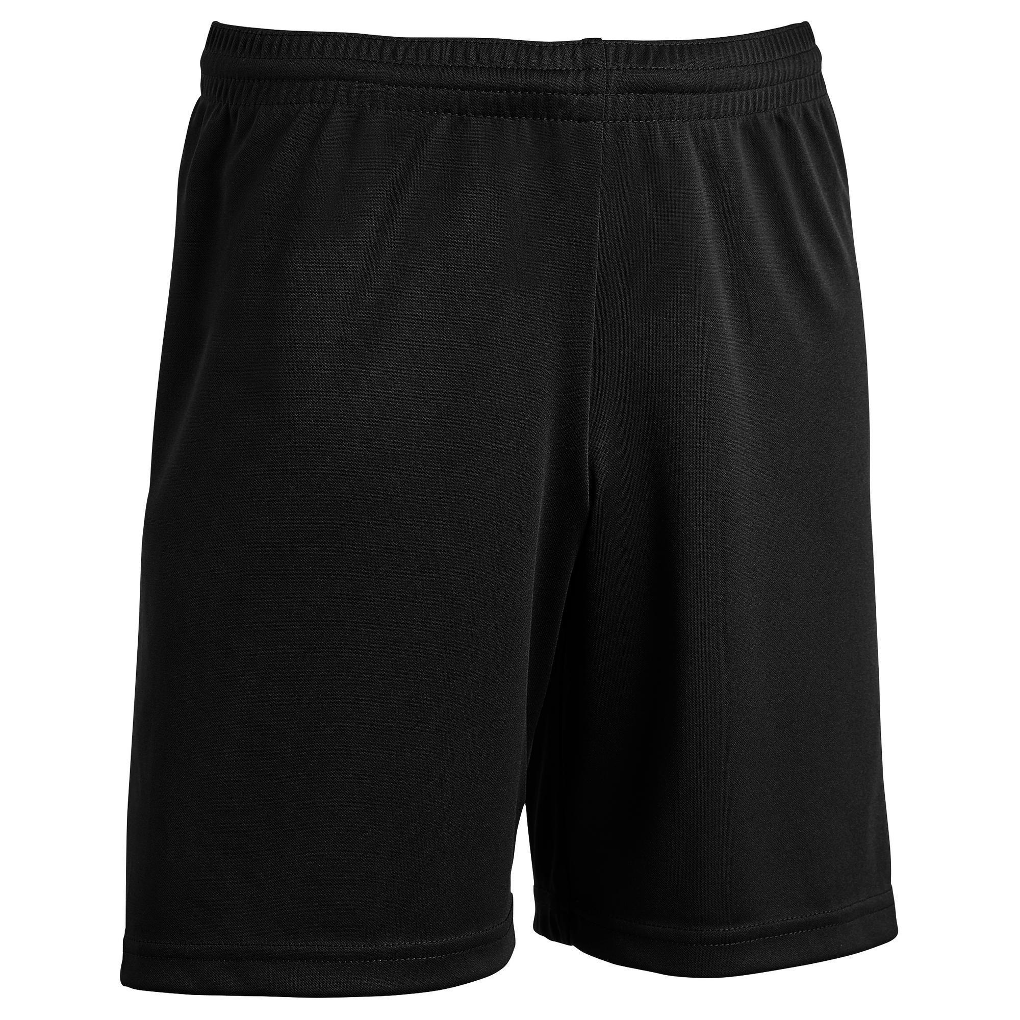 Short de football enfant F100 noir  d9cd9358e96