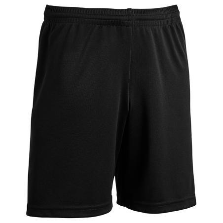 Short de soccer enfant F100 noir