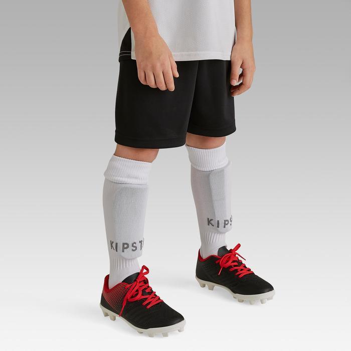 Pantalón corto de fútbol niños F100 negro