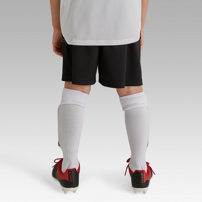Voetbalshort voor kinderen F100 zwart