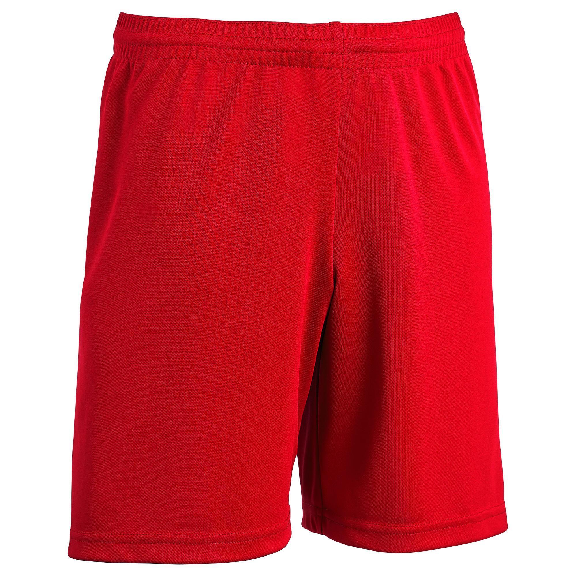 Kids' Football Shorts F100 - Black
