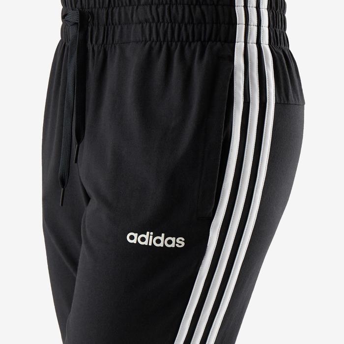 Pantalon Adidas 3 bandes femme noir