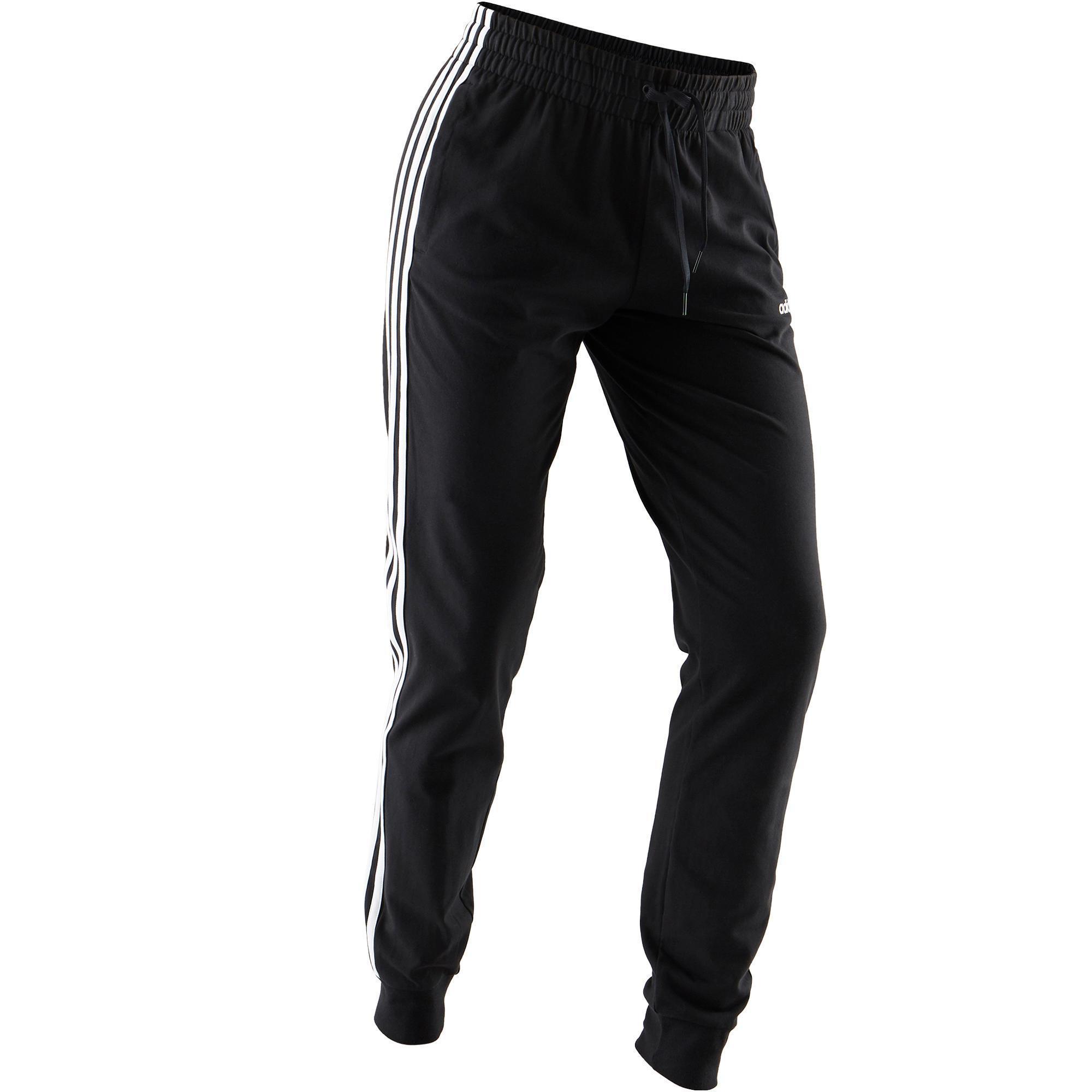 outlet factory outlets store Pantalon Adidas 3 bandes femme noir