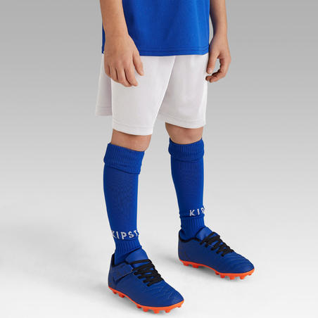 Kids' Football Shorts F100 - White