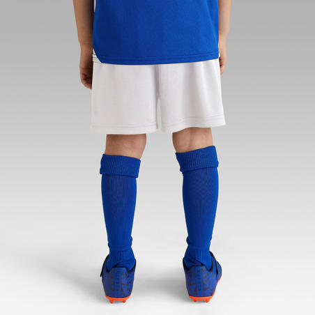 F100 Kids Football Shorts - White