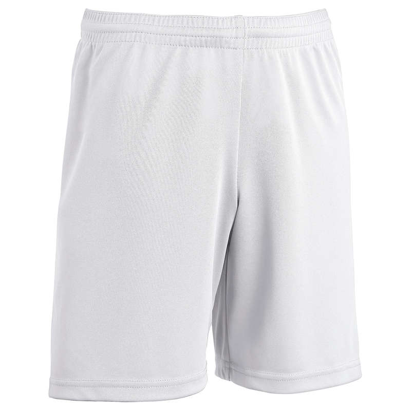 JR WARM WEATHER OUTFIT Football - F300 kids Football Shorts - White KIPSTA - Football Clothing
