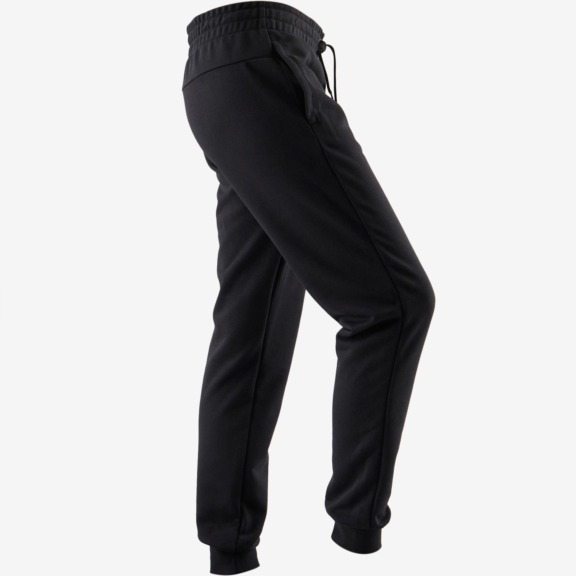 Adidas Noirblanc 500 Linear Pantalon Gym Femme Pilates Douce