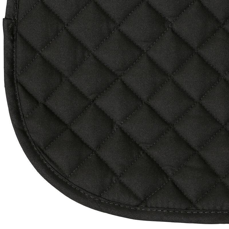 Horse Riding Schooling Saddle Cloth- Black