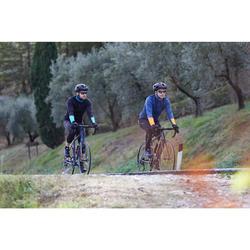 Lange Radhose Rennrad RC 100 Herren schwarz