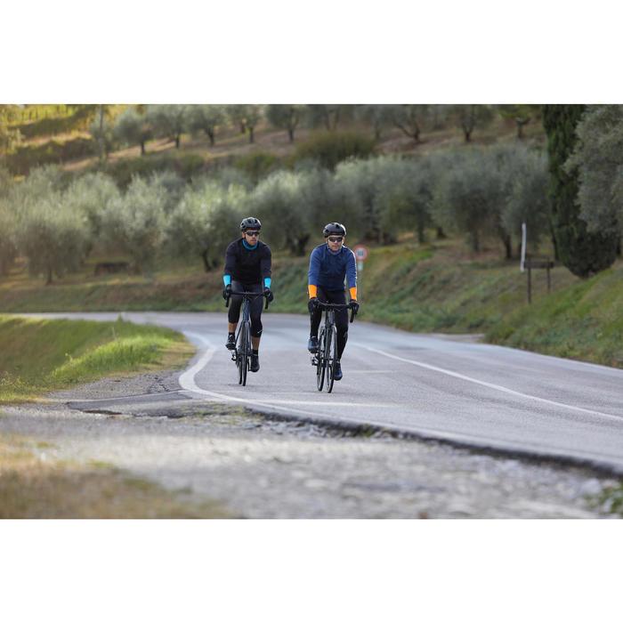 COLLANT VELO ROUTE CYCLOTOURISME HOMME 100 NOIR