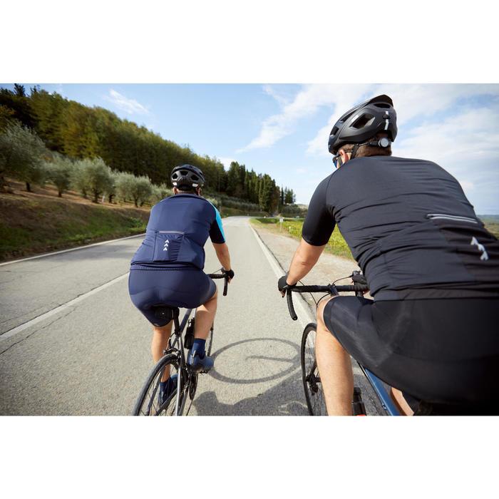 Fahrradhose kurz Rennrad RC 100 Herren schwarz