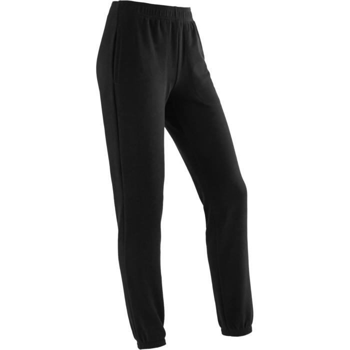 100 Girls' Gym Warm Bottoms - Black