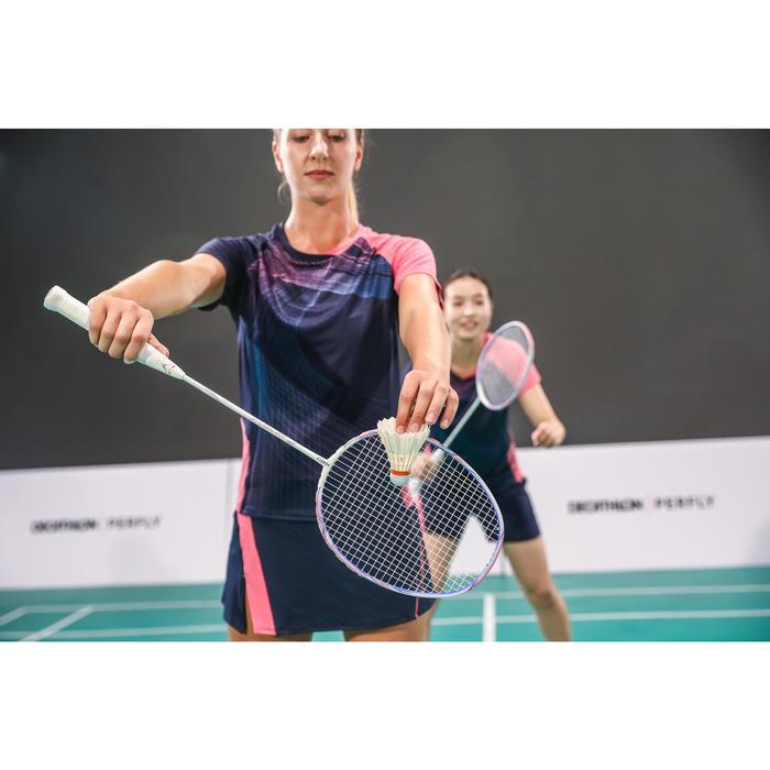 Badmintonschuhe BS 560 Damen weiss/blau